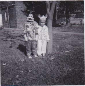 Lea and I halloween