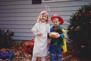 Martha and Daniel Halloween
