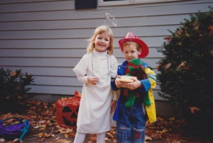 Martha and Daniel Halloween